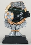 Impact Series -Soccer Antique Silver Series