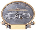 Car Show and Cruise Resin Antique Silver Series