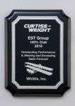 Black High Gloss Plaque Award Plaques