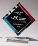 Diamond Series Acrylic B Hive Awards & Promotional Products | Acrylic | Crystal | Plaques | Trophies | Name Badges