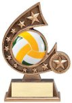 Resin Comet Series Volleyball B Hive Awards & Promotional Products | Acrylic | Crystal | Plaques | Trophies | Name Badges