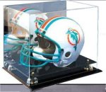 Acrylic Football Helmetl Display  Ball Holders