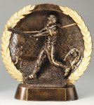 Resin Plate -Softball Female Baseball Trophies Awards