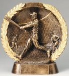 Resin Plate Baseball Basketball Trophies