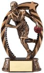 Bronze and Gold Basketball, Male Award Basketball Trophies