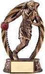 Bronze and Gold Basketball, Female Award Basketball Trophies