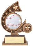 Resin Comet Series Baseball Basketball Trophies