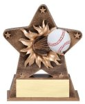 Star Burst Resin -Baseball Basketball Trophies Awards