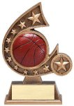 Resin Comet Series Basketball Basketball Trophies Awards