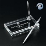 Optical Crystal Pen Set Boss Gift Awards
