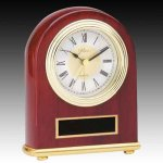 Piano Finish Desk Clock Boss Gift Awards