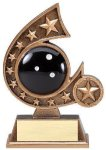 Resin Comet Series Bowling Bowling Trophies