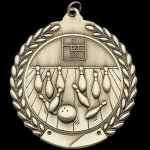 M Series Sculptured Medal Bowling Bowling Trophies Awards