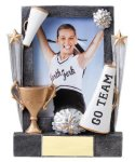 Cheer Sport Frame Cheerleading Trophy Awards