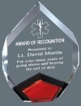 Acrylic Marquis Mirror Corporate Acrylic Awards Trophy