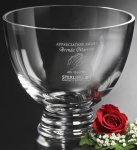 Clear Pedestal Bowl Corporate Gifts