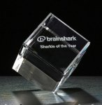 Cube Series Crystal Award Corporate Gifts