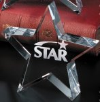 Tapered Star Crystal Awards