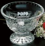 Durham Footed Trophy Bowl Crystal Awards