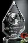 Magellan Global Award Crystal Globes