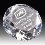 Diamond Crystal Award Crystal Paperweights