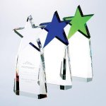 Triumphant Star Award Crystal Stars