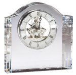 Crystal Clock Desk Clocks
