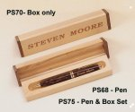 Tortoise Shell Finish Pen Desk Pen Sets