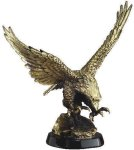 Eagle In-Flight On Base Eagle Trophies