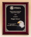 Rosewood Plaque Eagle Trophies Awards