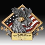 Eagle Diamond Resin Eagle Trophies Awards
