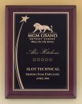 Shooting Star Rosewood Piano Finish Plaque Employee Awards