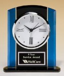 Glass Clock Employee Awards