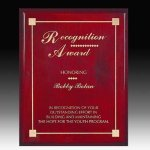 Piano Finish Direct Laser Plaque Employee Awards