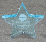 Star Acrylic Award Employee Awards