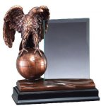 Eagle With Glass Employee Awards