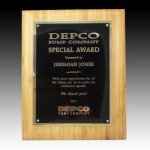 Bamboo Plaque Employee Awards
