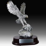 Antique Silver Eagle Trophy Executive Gift Awards