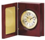Book Clock With Hinged Cover Executive Gift Awards