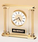 Traditionally Styled Desk Clock Executive Gifts