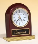 Rosewood Piano Finish Clock Executive Gifts
