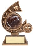 Resin Comet Series Football Football Trophies Awards