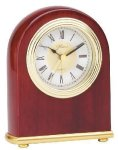 Small Domed Clock - Rosewood Gift Items