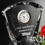 Fanfare Clock Gifts Personalized