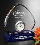 Sebring Clock Crystal Award Gifts Personalized