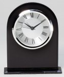 Black Desk Clock Award Gifts Personalized