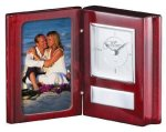 Rosewood Book Clock Gifts Personalized