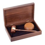 Deluxe Gavel Presentation Set Gifts Personalized