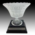 Crystal Bowl Glass Award Cups