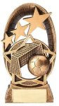 Radiant Stars Soccer Trophy  Gold Series